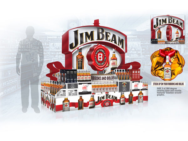 Jim-Beam-Holiday-Display